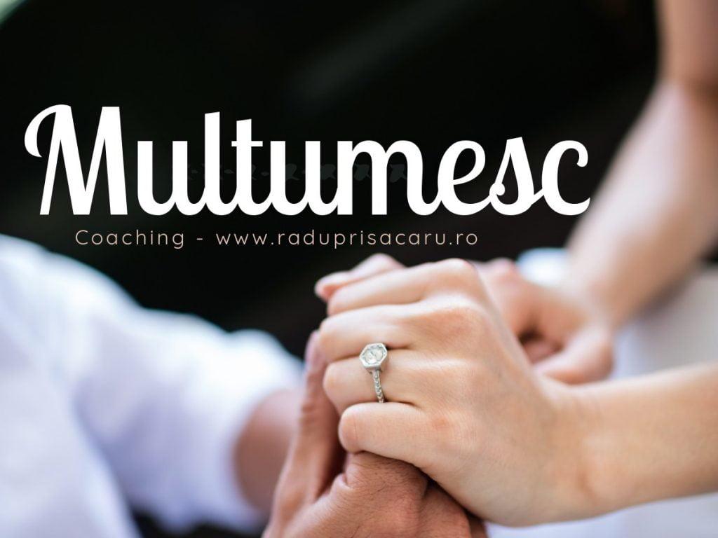 Jurnalul Recunostintei (26) – 19-25 Octombrie Multumesc www.raduprisacaru.ro